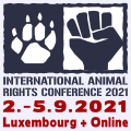 International Animal Rights Conference 2021 in Luxembourg + Online